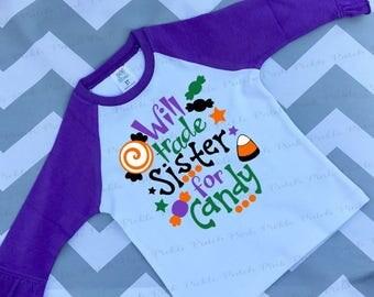 Will Trade For Candy Shirt, Halloween Shirt, Halloween Candy Shirt, My First Halloween, Fall Shirt, Ghost Shirt