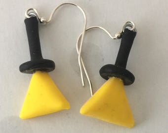 Bill Cipher Earrings