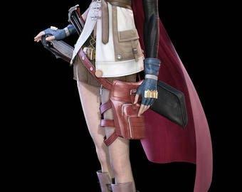 Lightning final fantasy cosplay costume