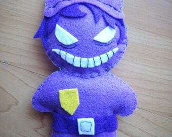 FNAF Purple Guy inspired plush