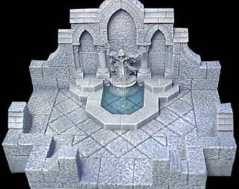 Gothic Fountain Room