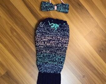 Newborn Mermaid Outfit