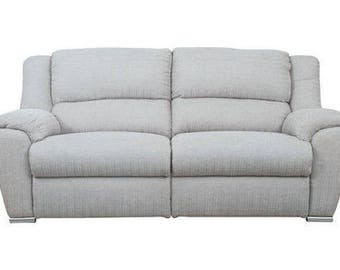 Designer Fabric Grey Blake Buoyant Sofa
