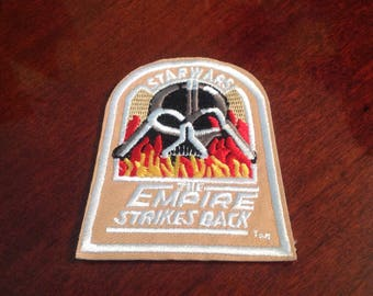 "2.5"" Star Wars The Empire Strikes Back embroidered iron on patch Free USA shipping"