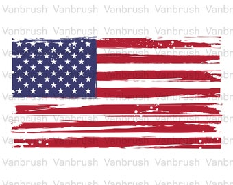 American flag texture. PNG, SVG, EPS (vector).