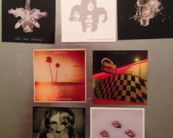 Kings of Leon MAGNETS Followill Alternative Pop Southern Rock Garage Revival Indie Country Use Somebody Smoke & Jackal Nashville TN  vinyl
