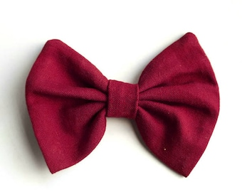 HOLIDAY COLLECTION / baby bow / baby headband / baby hair clip / clip / bow / headband for baby / bow for kids / cotton bow