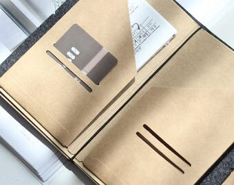 TN Kraft folder insert   TN size folder   insert