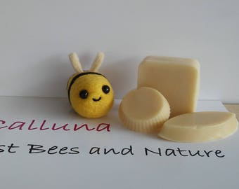 Honey and beewax soap