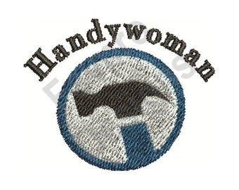 Handywoman - Machine Embroidery Design