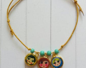 Its a Small world inspired bracelet
