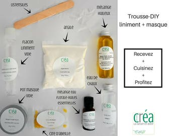 DIY kit liniment + yellow Clay mask