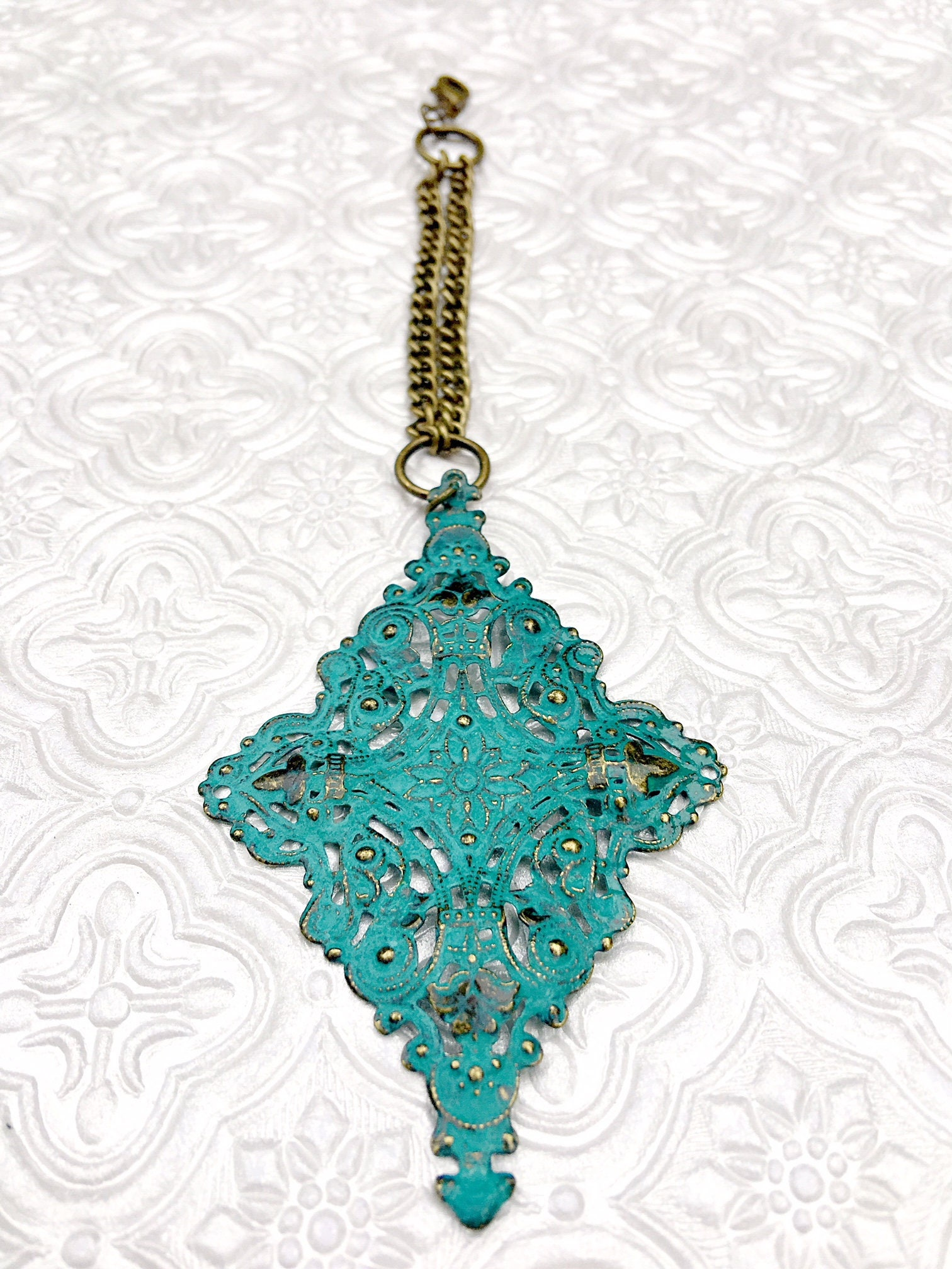 Turquoise scarf jewelry turquoise filigree pendant scarf gallery photo gallery photo gallery photo mozeypictures