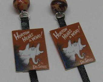 Horton Hears A Who Mini Book Earrings E77