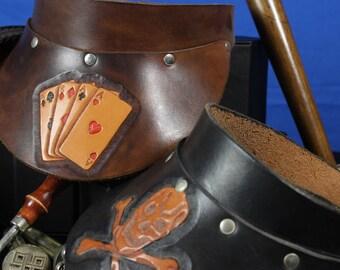Leather Visors