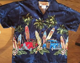 Baby Grandpa Hawaiian shirt 2T