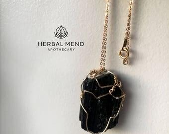 Black Tourmaline Necklace
