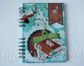 Story Time decorated Notebook