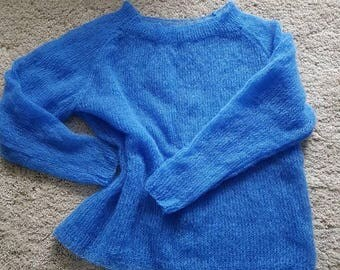 High quality mohair jumper. Knit top