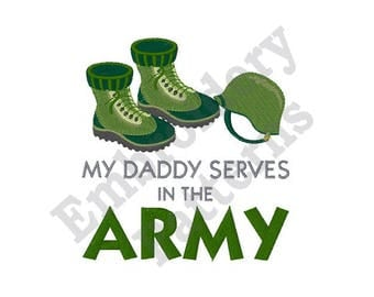 Army Gear - Machine Embroidery Design