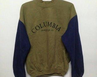 Vintage 90s Columbia sweatshirt M