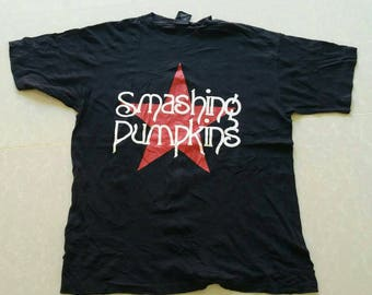 Vintage rare smashing pumpkins band shirt grunge