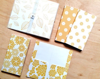 Yellow Dahlia complete Hobonichi-style set for Bullet Journal