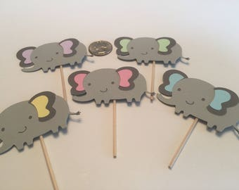 Pick your color cupcake elephants