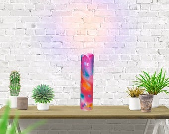 Hand Painted Paper Lamp