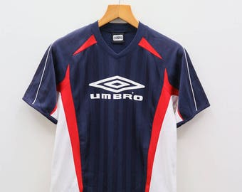 Vintage UMBRO Sportswear Big Logo Blue Jersey Size S-M