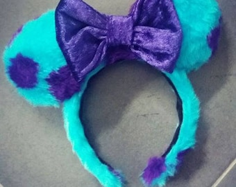 Sulley Inspired Ears