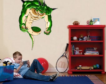 Dragon ball z art etsy for Dragon ball z bedroom