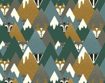 Winter Mountain Fox Harem Leggings