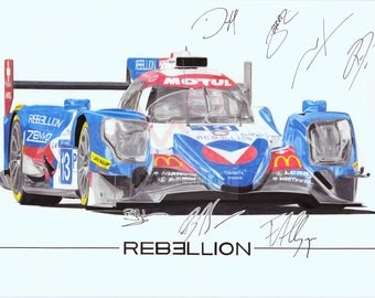 Vaillante rebellion (WEC 2017)