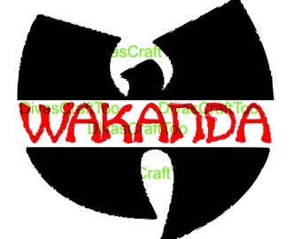 Wakanda Black Panther SVG