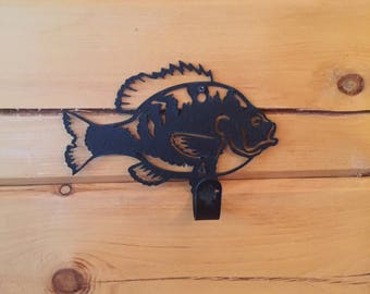 Wildlife Fish Hooks / Hangers / American Made / Home Decor / Cabin Decor / Home / Lodge / Antique Fishing Pole Hanger