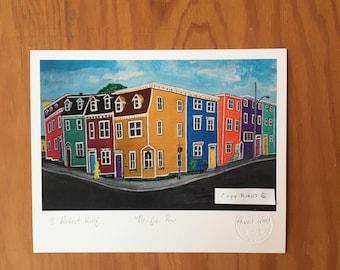 Newfoundland Jellybean Houses