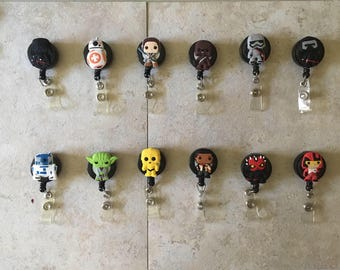 Star Wars badge reels