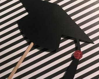 Graduation cap centerpieces/ 2017 graduation decorations