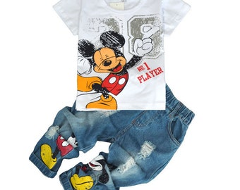 Kids Mickey Casual Clothing Set