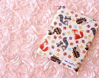 Fall Critters Book Sleeve