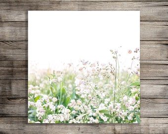 Printable Wall Art, Digital Download, Flower Print, Wildflower Photography, Nursery Art