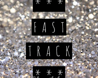 Rush My Order - Speedy Order - Fast Track - Queue Jump - Be Quick