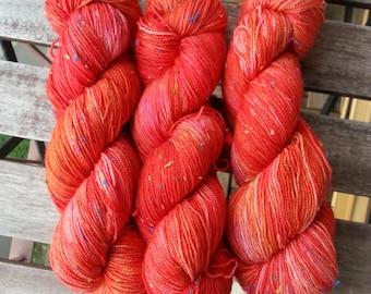 Volcanic - Hand dyed sock yarn