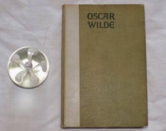 Oscar Wilde- By R.T. Hopkins, 1913- Rare Antique book