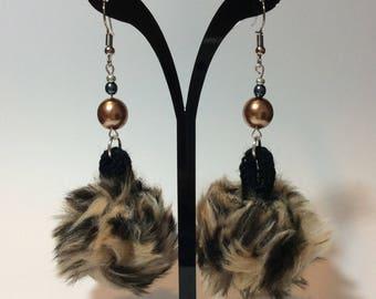 "Earrings ""Tassel and its renaissance Paisley"""