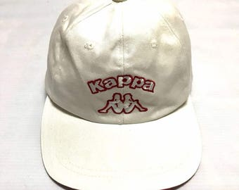 Rare!! Vintage Kappa Spellout Baseball Cap One Size Fits All