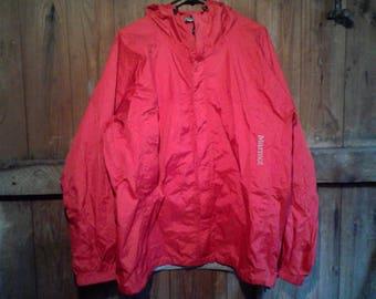 Marmot Rain Jacket Used Size L