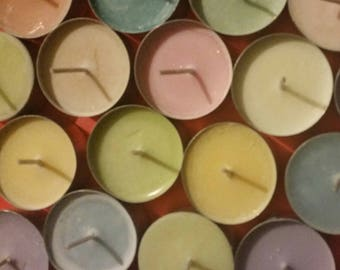 Tea light sampler with assorted scents!!
