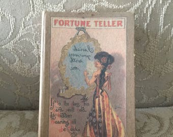 17 Vintage Fortune telling/ psychic cards with mirror card